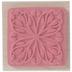Square Flourish Rubber Stamp