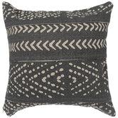 Gray & Cream Chevrons Pillow Cover