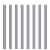 "Gray & White XXL Striped Scrapbook Paper - 12"" x 12"""