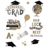 Graduation Foil Stickers