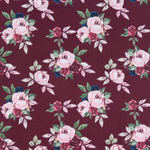 Berry Rose Apparel Fabric