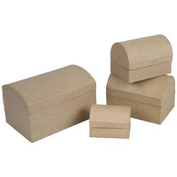Paper Mache Chest Boxes