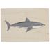 Shark Rubber Stamp