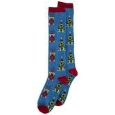 Festive Pugs Knee High Socks