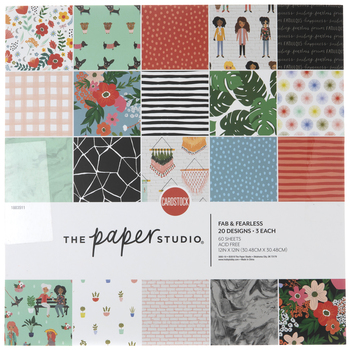 """Fab & Fearless Paper Pack - 12"""" x 12"""""""