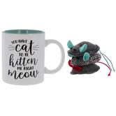 Kitten Me Mug & Cat Toys