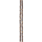 Tiger's Eye Round Jasper Bead Strands