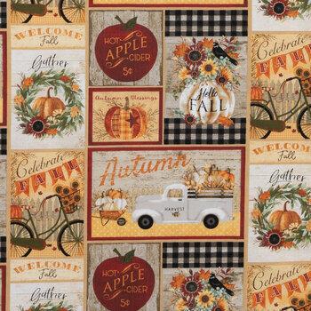 Hello Fall Cotton Fabric