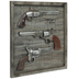 Revolvers Wood Wall Decor