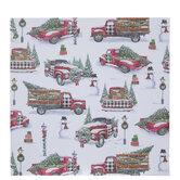 "Christmas Trucks Scrapbook Paper - 12"" x 12"""