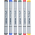 Bold Primaries Copic Sketch Markers - 6 Piece Set