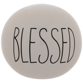 White Blessed Decorative Sphere