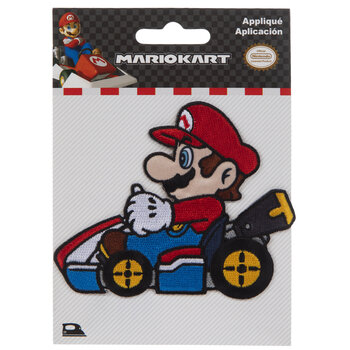 Mario Iron-On Applique