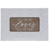 All Of Me Wood Wall Decor