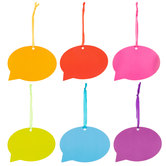 Conversation Bubble Gift Tags