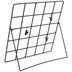 Black Grid Wire Metal Clip Frame