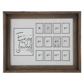 Enjoy The Journey K-12 Collage Wall Frame