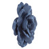 Navy Wild Rose Wall Decor - Small