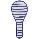 Blue Striped Spoon Rest