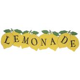 Lemonade Wood Wall Decor