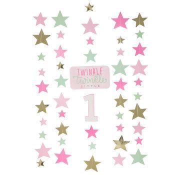 First Birthday Stars Hanging Decorations