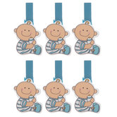 Blue Baby Decorative Clips