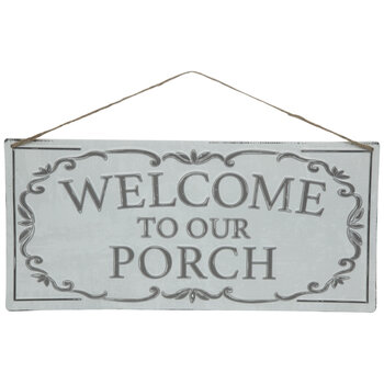 Welcome To Our Porch Metal Sign Hobby Lobby 1869221
