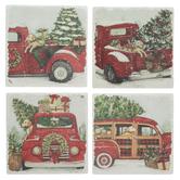 Christmas Truck Coasters