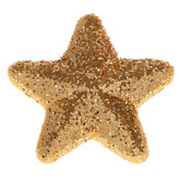 Glitter Star Shank Buttons