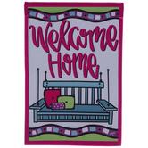 Welcome Home Garden Flag