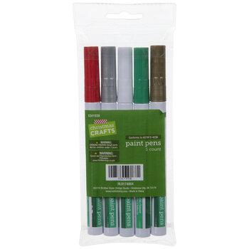 Christmas Paint Pens - 5 Piece Set