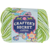Vintage Green Stonewashed Crafter's Secret Cotton Yarn