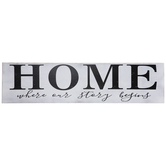 Where Our Story Begins Wood Wall Decor