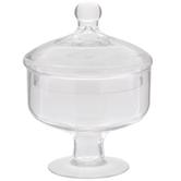 Round Glass Apothecary Jar