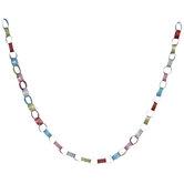 Multi-Color Glitter Paper Chain Garland