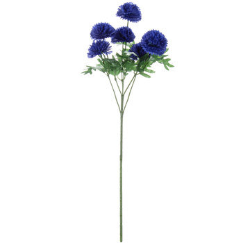 Blue Cornflower Stem