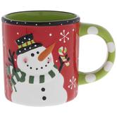 Let It Snow Snowman Mug