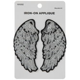 Wings Sequin Iron-On Appliques
