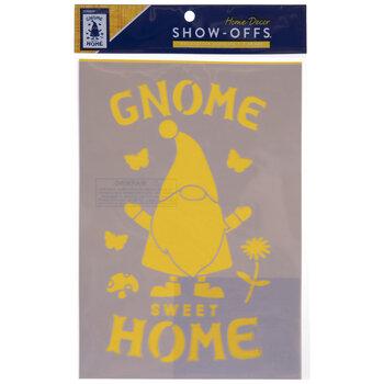 Gnome Sweet Home Stencil