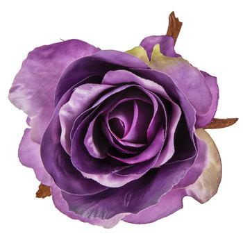 Metallic Purple Rose Stem