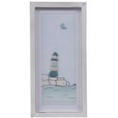 Rock Lighthouse Wood Wall Decor