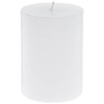 Pearl White Pillar Candle