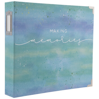 "Making Memories Watercolor 3-Ring Scrapbook Album - 12"" x 12"""