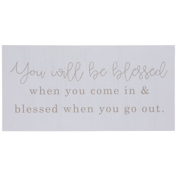 You Will Be Blessed Wood Wall Decor