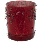 Mercury Glass LED Candle