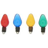 Christmas Light Buttons
