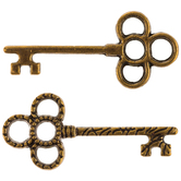 Skeleton Key Charms