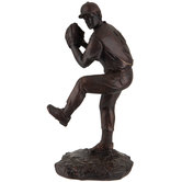 Bronze Baseball Pitcher