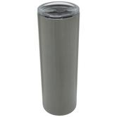 Silver Skinny Metal Cup