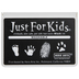 Black Just For Kids Washable Ink Pad